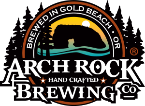 Image result for arch rock brewing company logo